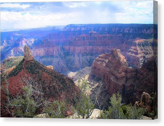 Grand Canyon Canvas Print - Canyon Adventures by Michelle Anderson