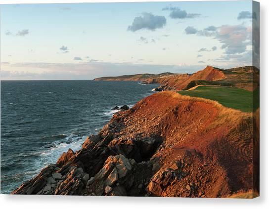 Cabot Trail Canvas Print - Cape Breton Coastline by Westhoff