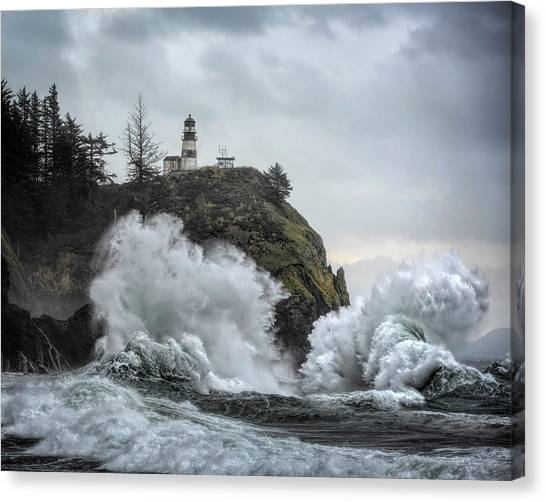 Cape Disappointment Chaos Canvas Print