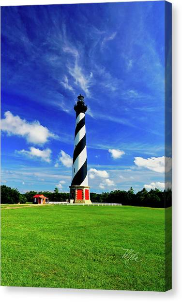 Cape Hatteras Lighthouse Canvas Print
