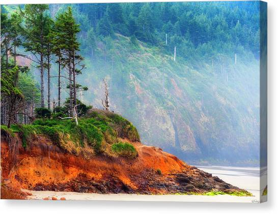 Cape Lookout Beach Canvas Print
