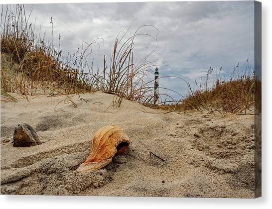 Cape Lookout Lighthouse Canvas Print