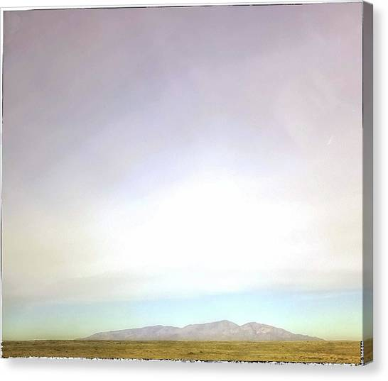 Capitan Mountain Canvas Print