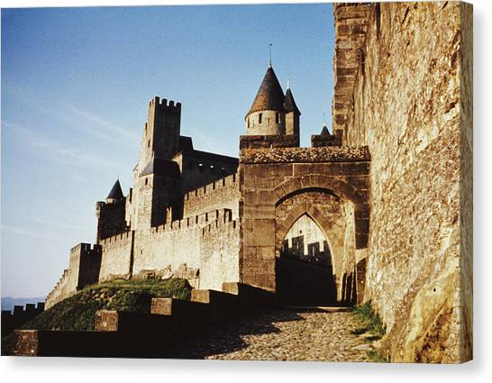 Carcassonne Canvas Print by Archive Photos