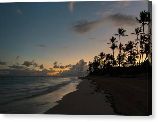 Caribbean Rise Canvas Print