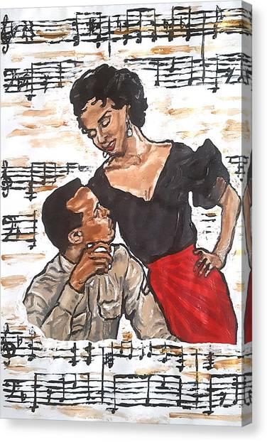 Carmen Jones - That's Love Canvas Print