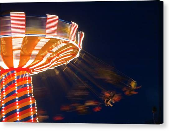 Carnival Ride Canvas Print