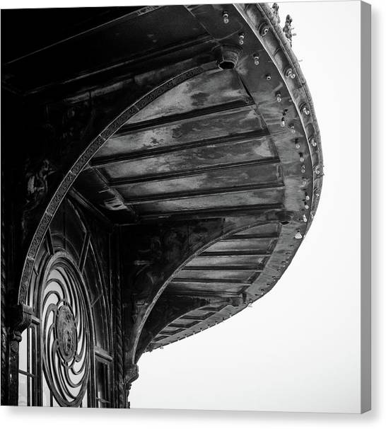 Carousel House Detail Canvas Print