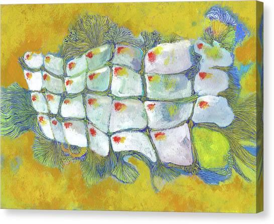 Carp - #ss19dw004 Canvas Print by Satomi Sugimoto