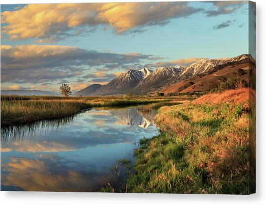 Carson Valley Sunrise Canvas Print