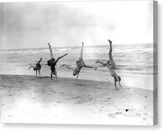Cartwheels Canvas Print by Fox Photos