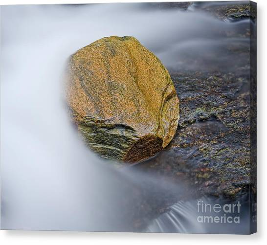 Canvas Print featuring the photograph Cascade 6 by Patrick M Lynch