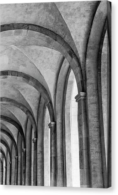 Cathedral At Eberbach Monastery Canvas Print