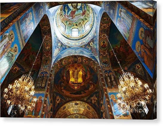 Orthodox Canvas Print - Cathedral by Ivan kislitsin