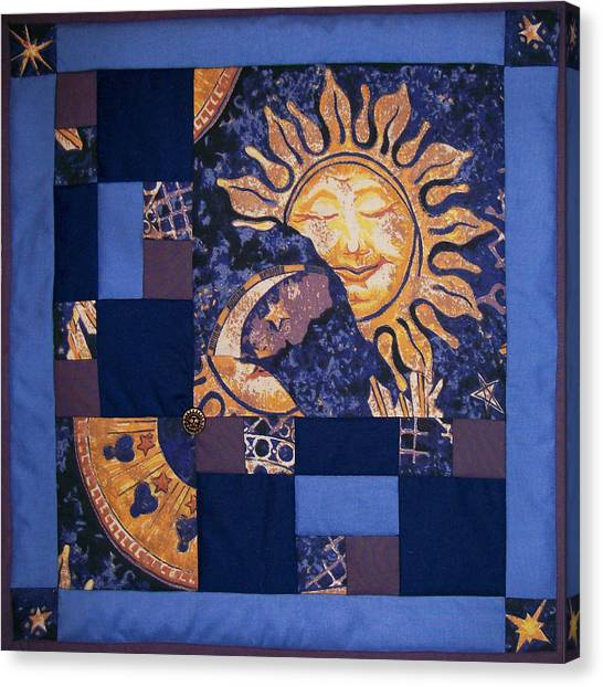 Celestial Slumber Canvas Print