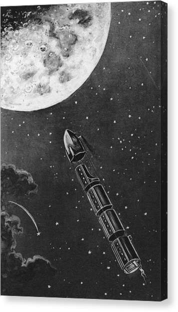 Celestial Travel Canvas Print by Hulton Archive