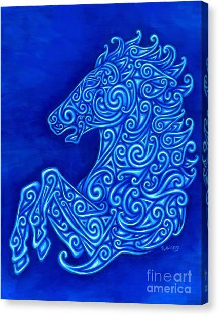 Celtic Horse Canvas Print
