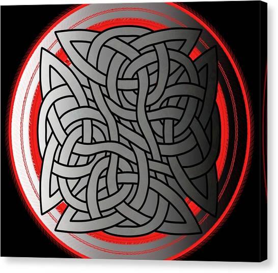 Celtic Shield Knot 4 Canvas Print