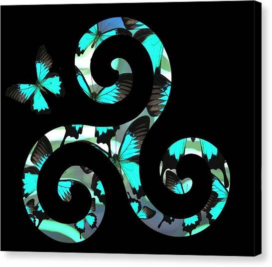 Celtic Spiral 3 Canvas Print