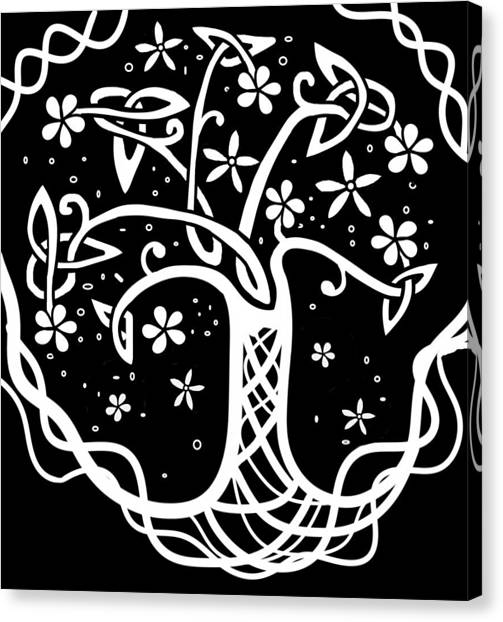 Celtic Tree Of Life 3 Canvas Print
