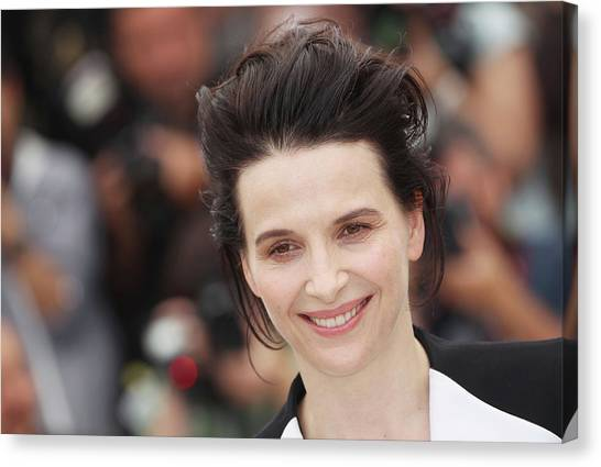 Certified Copy - Photocall Cannes Film Canvas Print