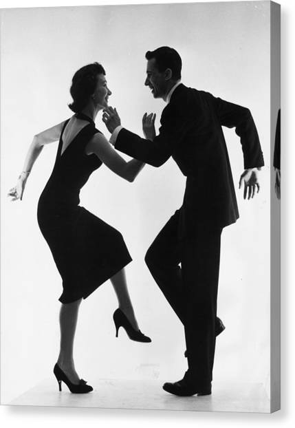 Cha-cha-cha Canvas Print by Thurston Hopkins