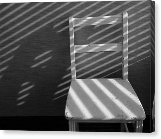 Blinds 2 / The Chair Project Canvas Print