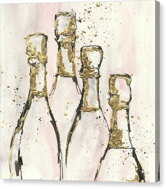 Champagne Is Grand II Canvas Print by Chris Paschke