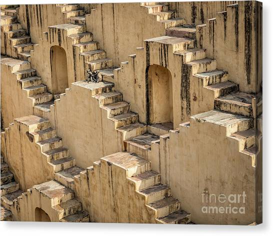 Chand Baori Canvas Print