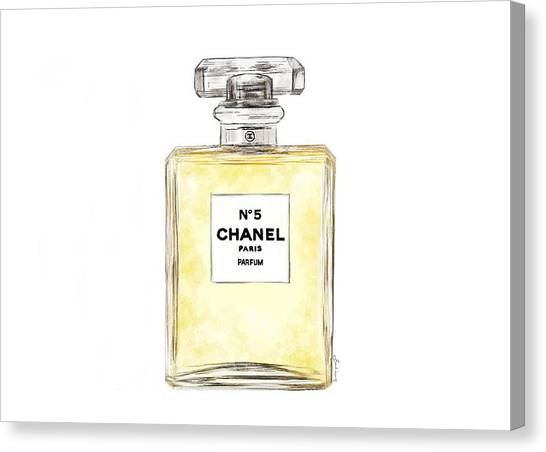 Chanel No. 5  Canvas Print