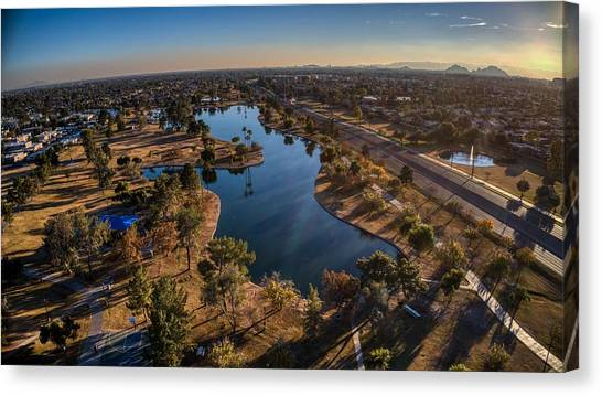Chaparral Lake Canvas Print
