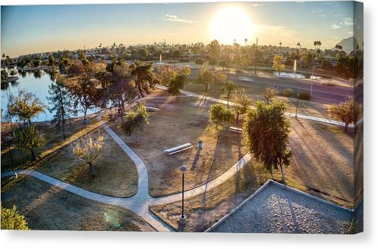 Chaparral Park Canvas Print