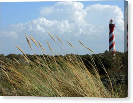 Characteristic Lighthouse Canvas Print