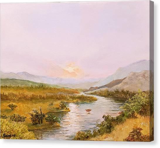 Charon's Sabbatical Canvas Print