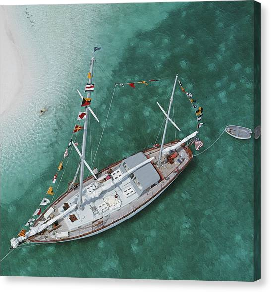 Charter Ketch Canvas Print