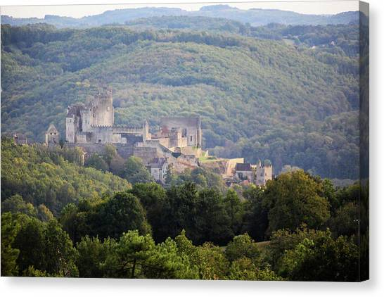 Chateau Beynac, France Canvas Print