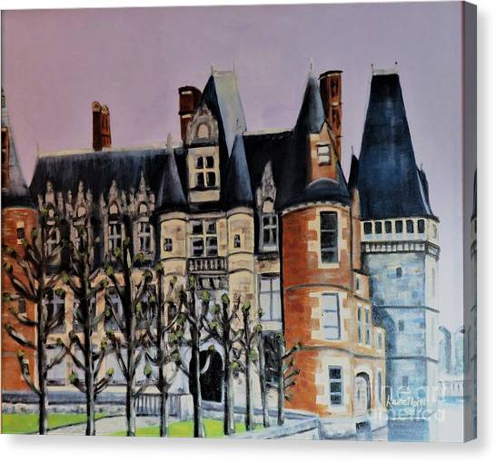 Chateau De Maintenon Canvas Print