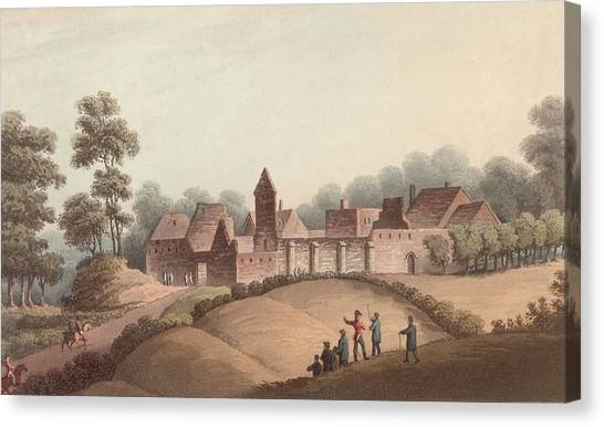 Chateau Dhougoumont Canvas Print by Hulton Archive