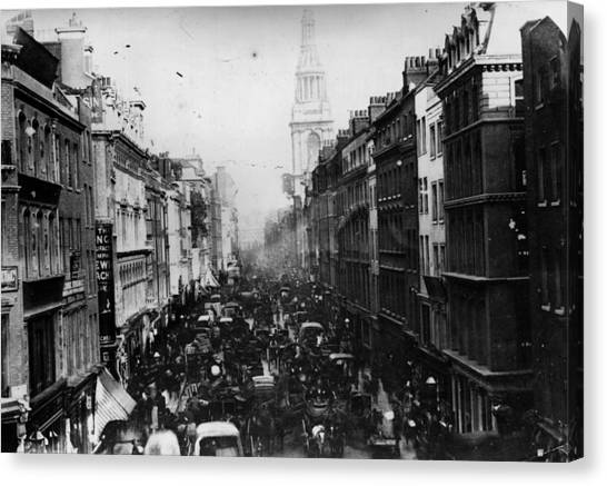Cheapside Canvas Print by General Photographic Agency