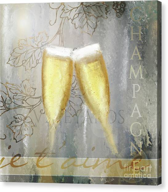Cheers To Love Canvas Print