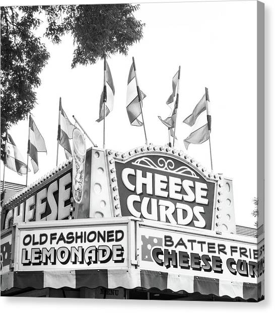 Cheese Curds Canvas Print
