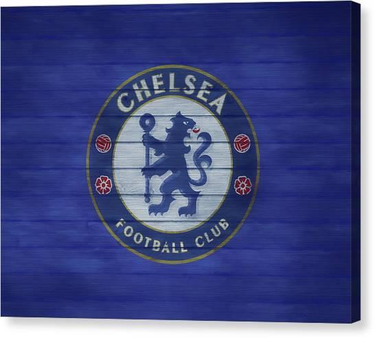 Stamford Bridge Canvas Print - Chelsea Football Club Barn Door by Dan Sproul