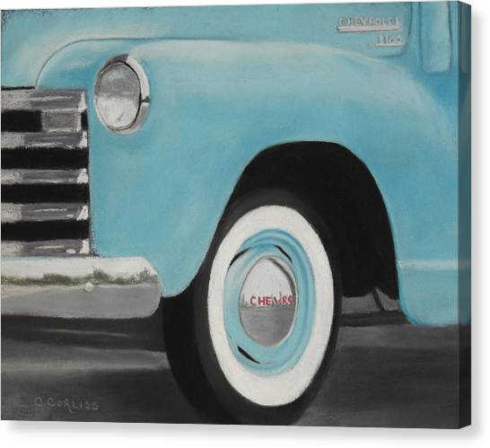 Chevy Truck 3100 Canvas Print