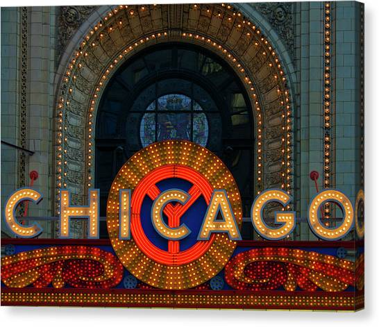 Chicago Emblem Canvas Print