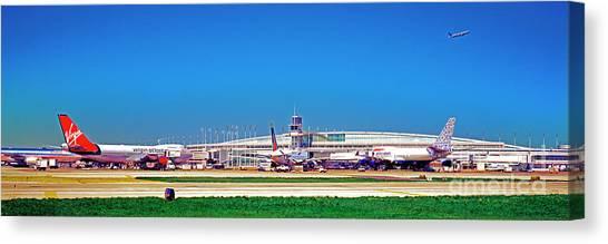 Chicago, International, Terminal Canvas Print