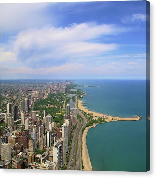 Chicago - Lake Michigan Canvas Print