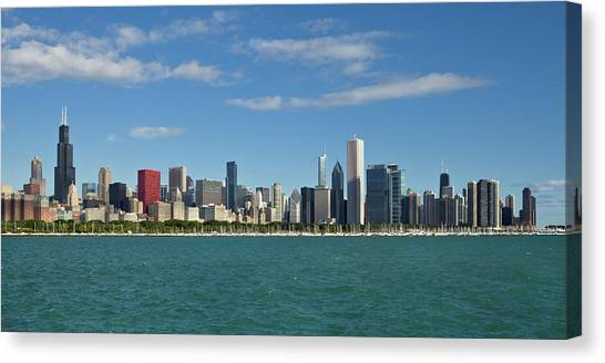 Chicago Panorma Canvas Print