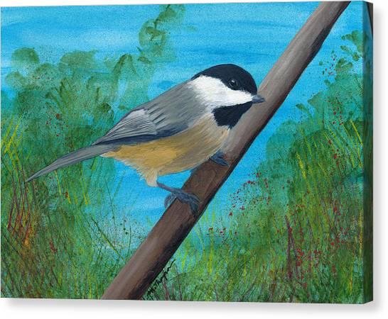 Chickadee 2 Canvas Print