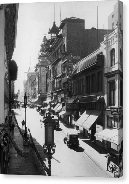 Chinatown Canvas Print by Hulton Archive