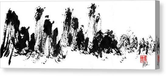 Chinese Mountains Canvas Print